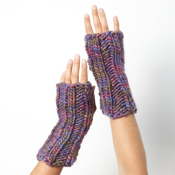 Purple Rainbow Handwarmers