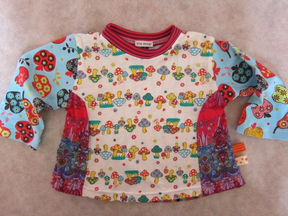 Fruits of the forest Tshirt - Farbenmix style - size 2