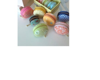 Handmade Macaroons Pouch (1pc)