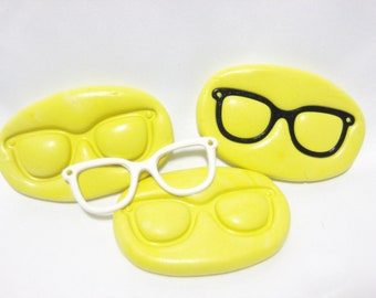 Nerdy Glasses Silicone Mold