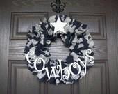 """12"""" Dallas Cowboys Wreath"""