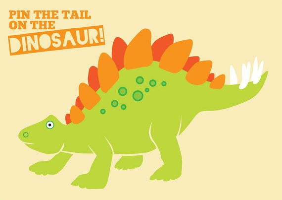 pin the tail on the dinosaur template - pin the tail on the dinosaur dino mite party printables