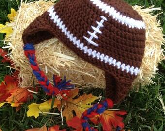 Baby Football Earflap Hat