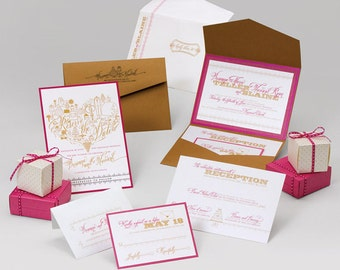 Wedding Invitations - Brianna Collection