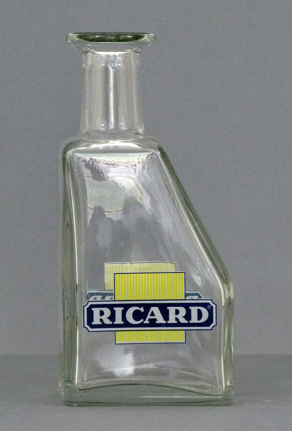 a Ricard french pastis water bottle