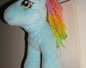 Sold - Do Not Buy --- Stuffed Animal Taxidermy - Little Pony