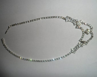 Beautiful Vintage Rhinestone Necklace