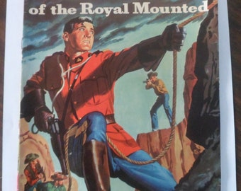 King of the Royal Mounted Dell Comic Book Color 1958