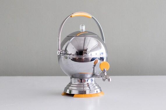 Vintage Manning Bowman 20 Cup Art Deco Percolator