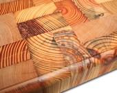 End Grain Butcher Block Reclaimed Wood Cutting Board