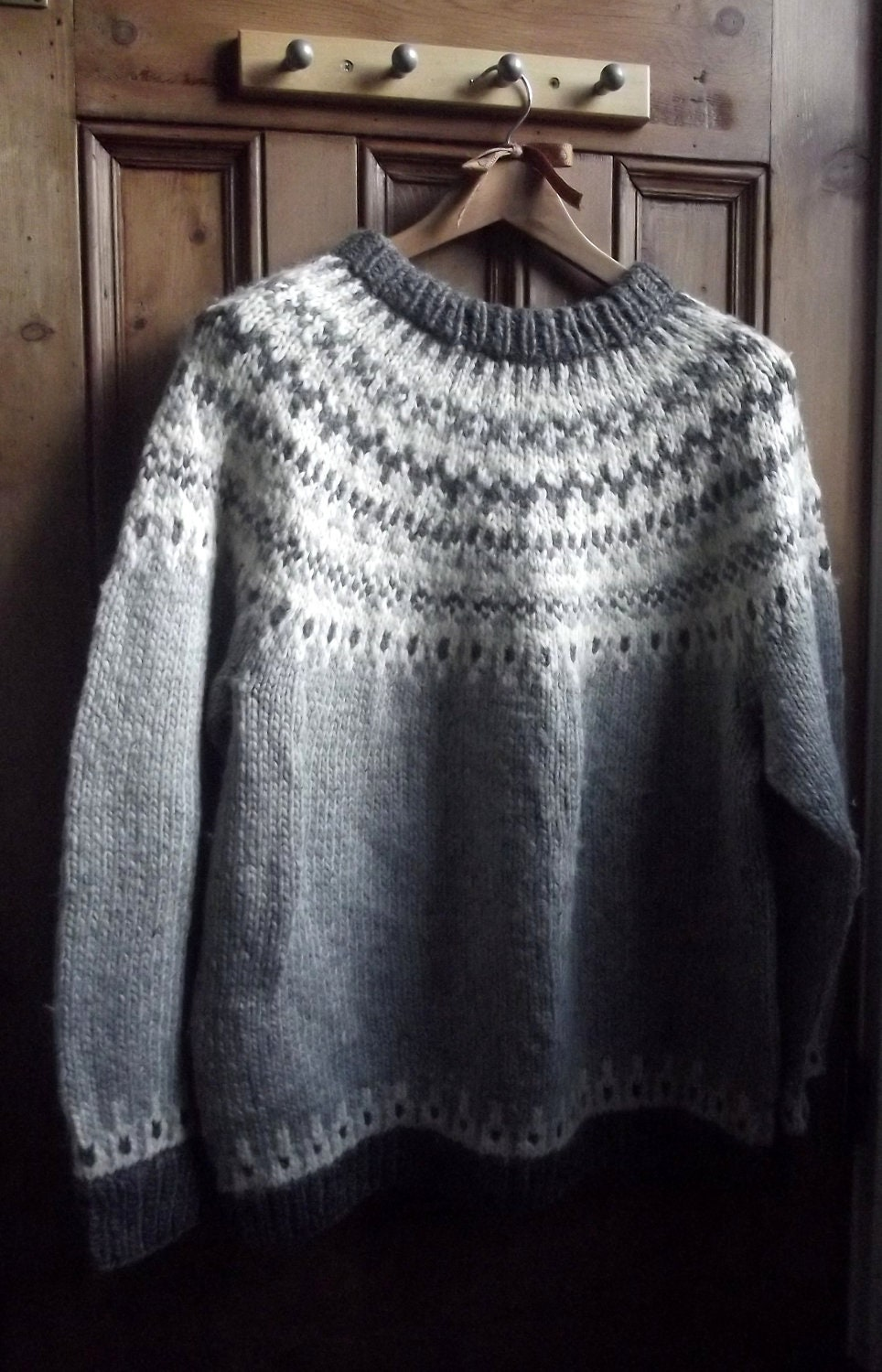 womens mens Nordic icelandic sweater jumper by ...