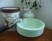 Set of Mint Green Texas Ware Melamine Bowls