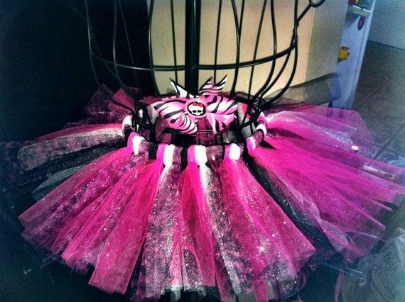 Monster High themed tutu junior sizes 11-15