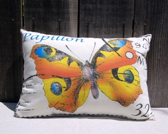 Butterfly Pillow 13 x 19
