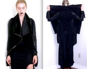 NUIT F/W 2012: The Great Dragon Leather Combo Jacket