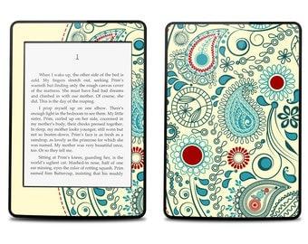Amazon Kindle Paperwhite Skin Cover - Vintage Paisley - Kindle Cover, Kindle Paperwhite Cover