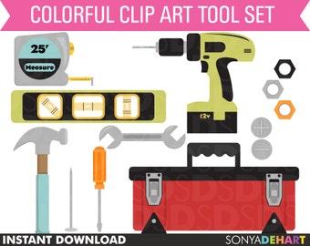 Clipart Tools, Clip Art Tools, Clipart Toolbox, Clip Art Toolbox, Clipart Hammer, Clipart Tool Set, Clipart Drill