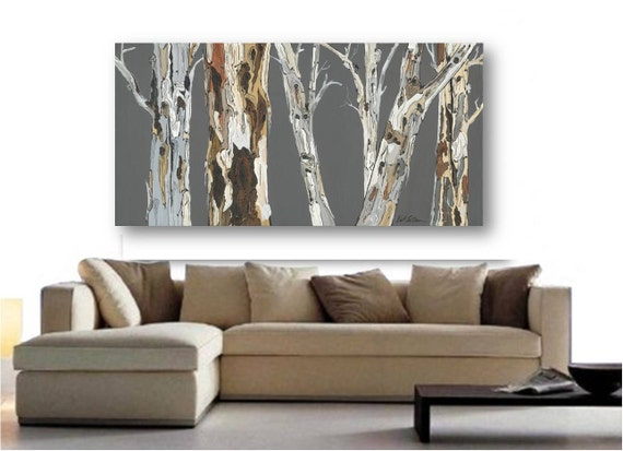 VERY LARGE Wall Art Print tree Art Rolled canvas by ...