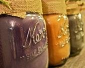 16oz Mason Jar Candle--Rustic & Shabby Chic