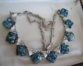 Coro Confetti Thermoset Vintage  Necklace