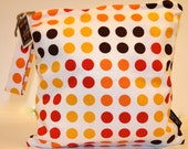 Wet Bag or Eco-bag with Snap Handle - Waterproof - Daisies and Dots Collection - Summer