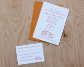 Custom Wedding Invitation, the listing is for a sample packet.