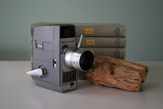 8mm Camera by Bell & Howell
