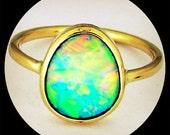 Bespoke Opal rings