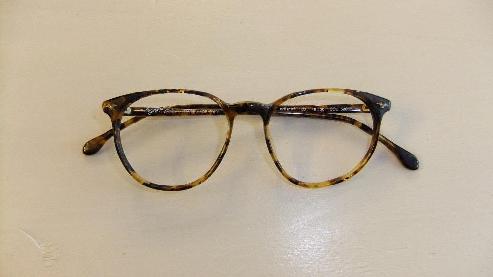 vintage tortoiseshell police wayfarer eyeglass frames zoom