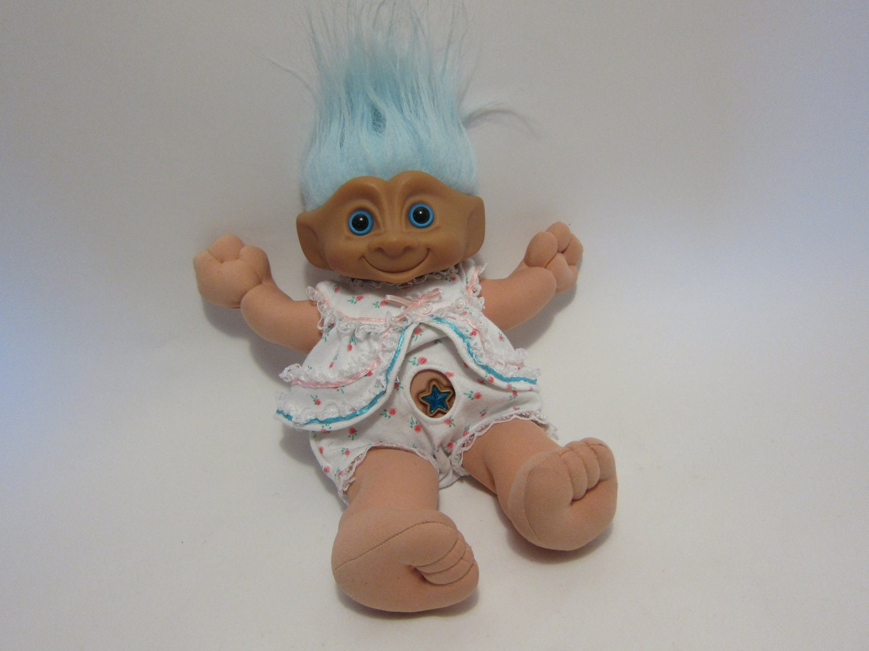 Vintage Large 18 Treasure Troll 1991 ACE Novelty Doll