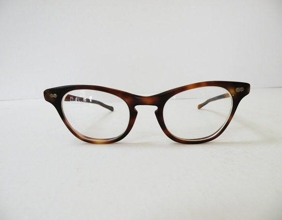 RESERVED FOR TIARA // Ladies Tortoiseshell Cat Glasses // 50s Fashion Eyewear Nerdy Geeky