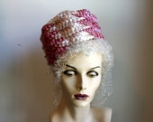 Vintage Betmar Pink Straw Hat