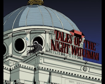 Tower Print (Tales of the Night Watchman) 11x17