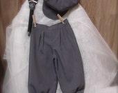 Sz 7-12yrs Grey Knicker Pants, boys knickers, wedding knicker, Knicker Pants only