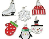 Wonderland Christmas Charms