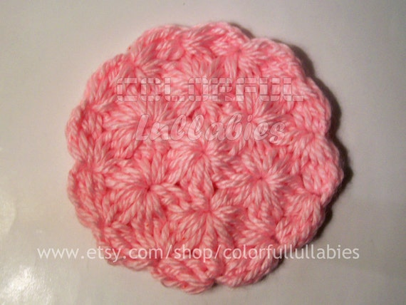 Crochet Jasmine Stitch In The Round : Jasmine Stitch. Pdf crochet pattern. Working in rows or in the round ...