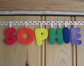 Personalised Name Banner - 6 Letters