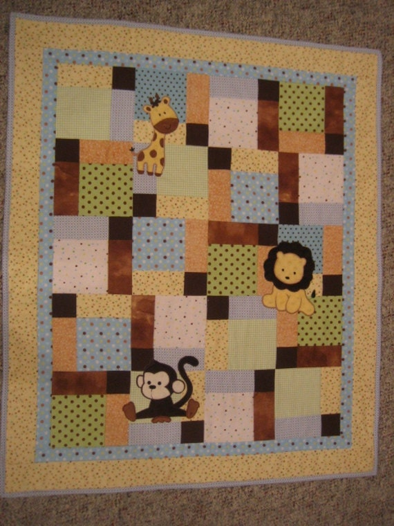 Reserved for Holly One of a Kind Flannel & Minky, Baby Boy Quilt 34 in. x 40 in.