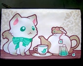 Kittea Time Zipper Bag