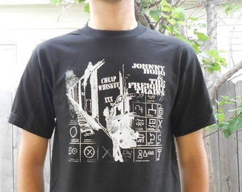 Johnny Hobo and the Freight Trains T-Shirt - MADE TO ORDER