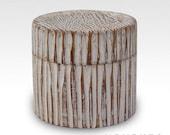 Carved Wedding Ring Box