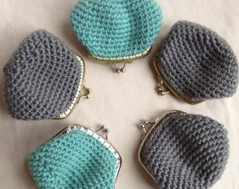 Crochet Pattern: Kisslock Coin Purse