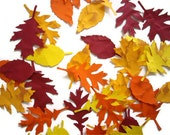 fall leaves, paper leaves, distressed fall leaves,leaf  die cut, embellishment, decoration