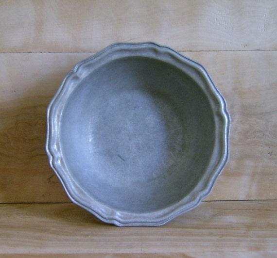 SALE Vintage Wilton Armetale Bowl, 1972