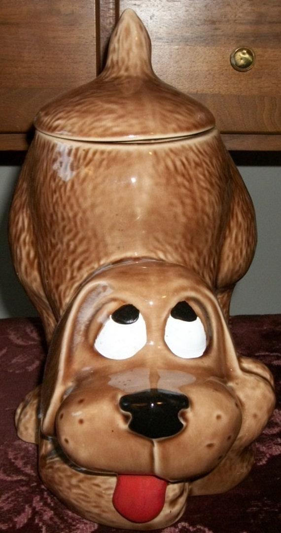 """McCoy Hound Dog """"Thinking Puppy"""" Cookie Jar"""
