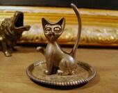 Vintage Cat Ring Holder