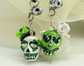 Charms mobile skull in a-day is the day of the dead CM0033