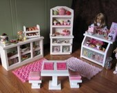 "Deluxe Sweet Shop Cafe / Bakery Set - for American Girl or other similar 18"" dolls - MAY 2014 SHIPPING ONLY"
