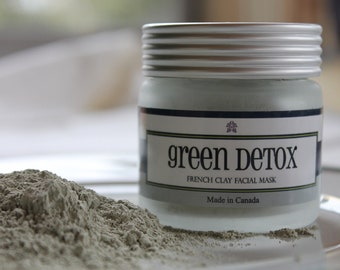 Green Detox French Green Clay Mask