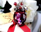 Reserved for A. Queen Size Crystal Necklace